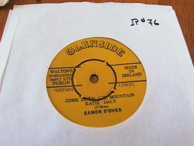 EAMON O SHEA - GLENSIDE RECORDS IRISH PRESS