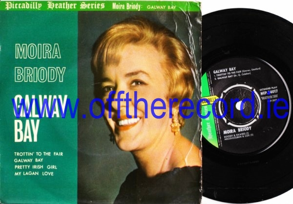 Moira Briody - Galway Bay - Piccadilly EP 1963