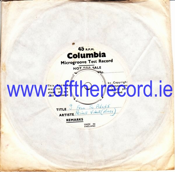 Prince Vince & Kings - Beautiful Dreamer - Columbia Test Press