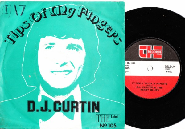 D.J. Curtin - Tips of my fingers - The Records 1974