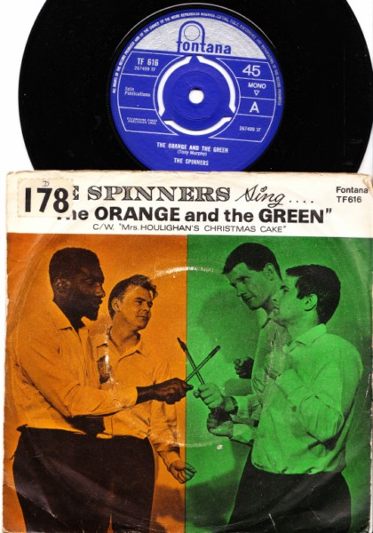 The Spinners - Sing The Orange & Green - Fontana P/S