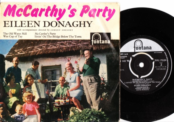 Eileen Donaghy - McCarthy's Party - Fontana EP