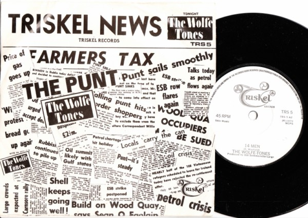 THE WOLFE TONES - The Punt - TRISKEL 1979