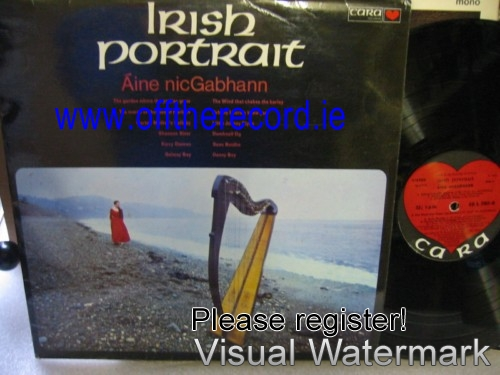 Aine Nic Gabhann - Irish Portraits - Cara Records 1970