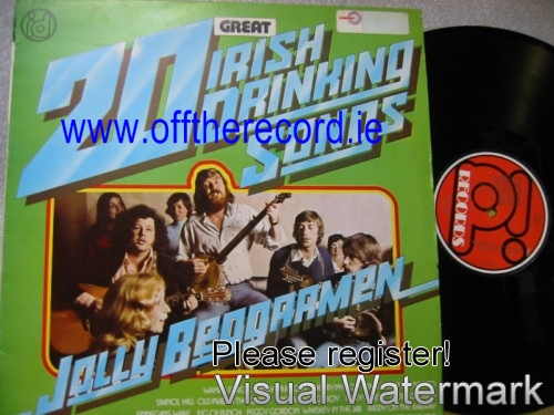 Jolly Beggermen - 20 Irish Drinking Songs - ID Records