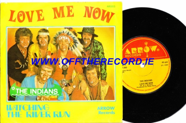 The Indians - Love me now - Arrow 1980