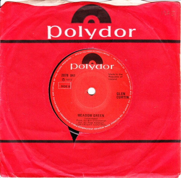 Polydor 2078041 - GLEN CURTIN - I'D LOVE YOU TO WANT ME
