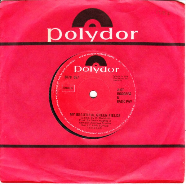 Polydor 2078057 - JUST RODGERS & BASIC PAY 1970s