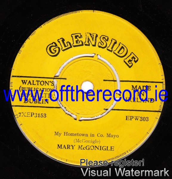 Mary McGonigle - My Hometown in Co. Mayo - Glenside