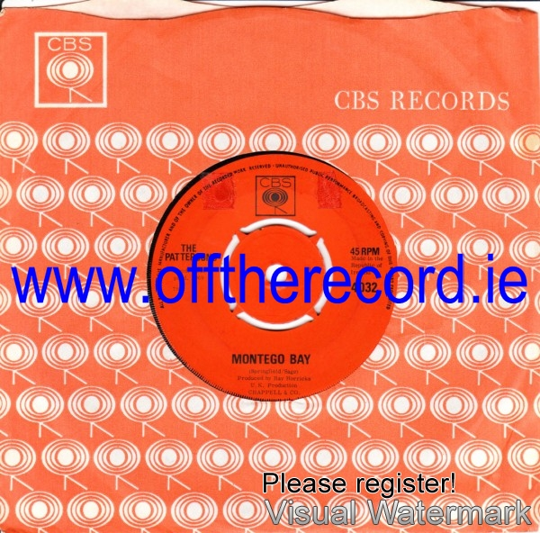 The Pattersons - Montego Bay - CBS Irish