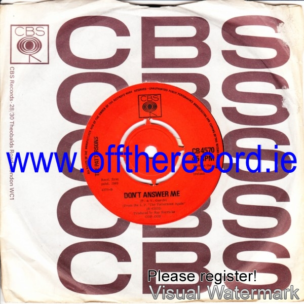 The Pattersons - An Cailin Deas - CBS Irish