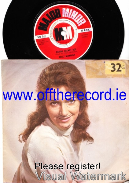 Dolly McMahon - Sweet Rathcoole - Major Minor Picture Sleeve