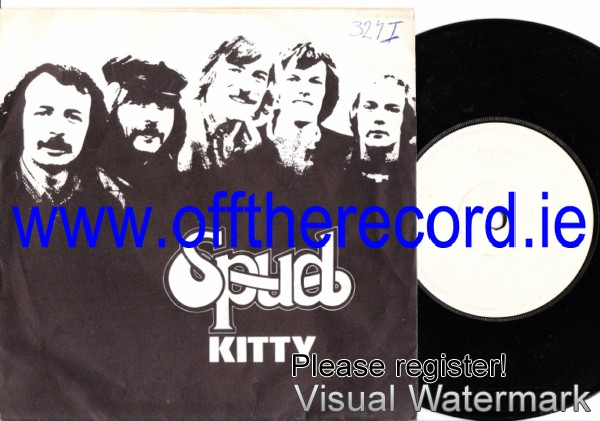 Spud - Kitty / Scarlet - Break Records Picture Sleeve