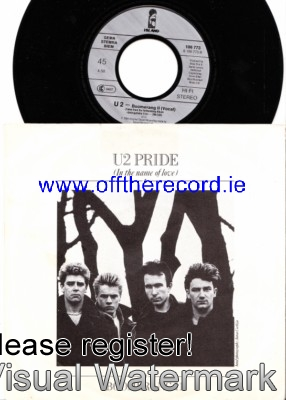 U 2 - Pride in the name of love - Island