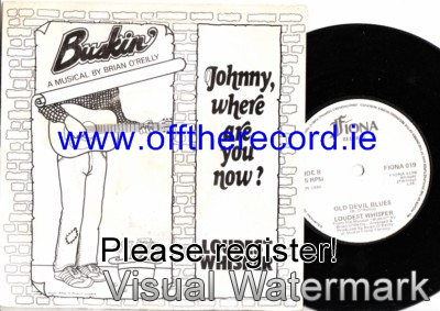 Loudest Whisper - Johnny where are you now - Fiona Records