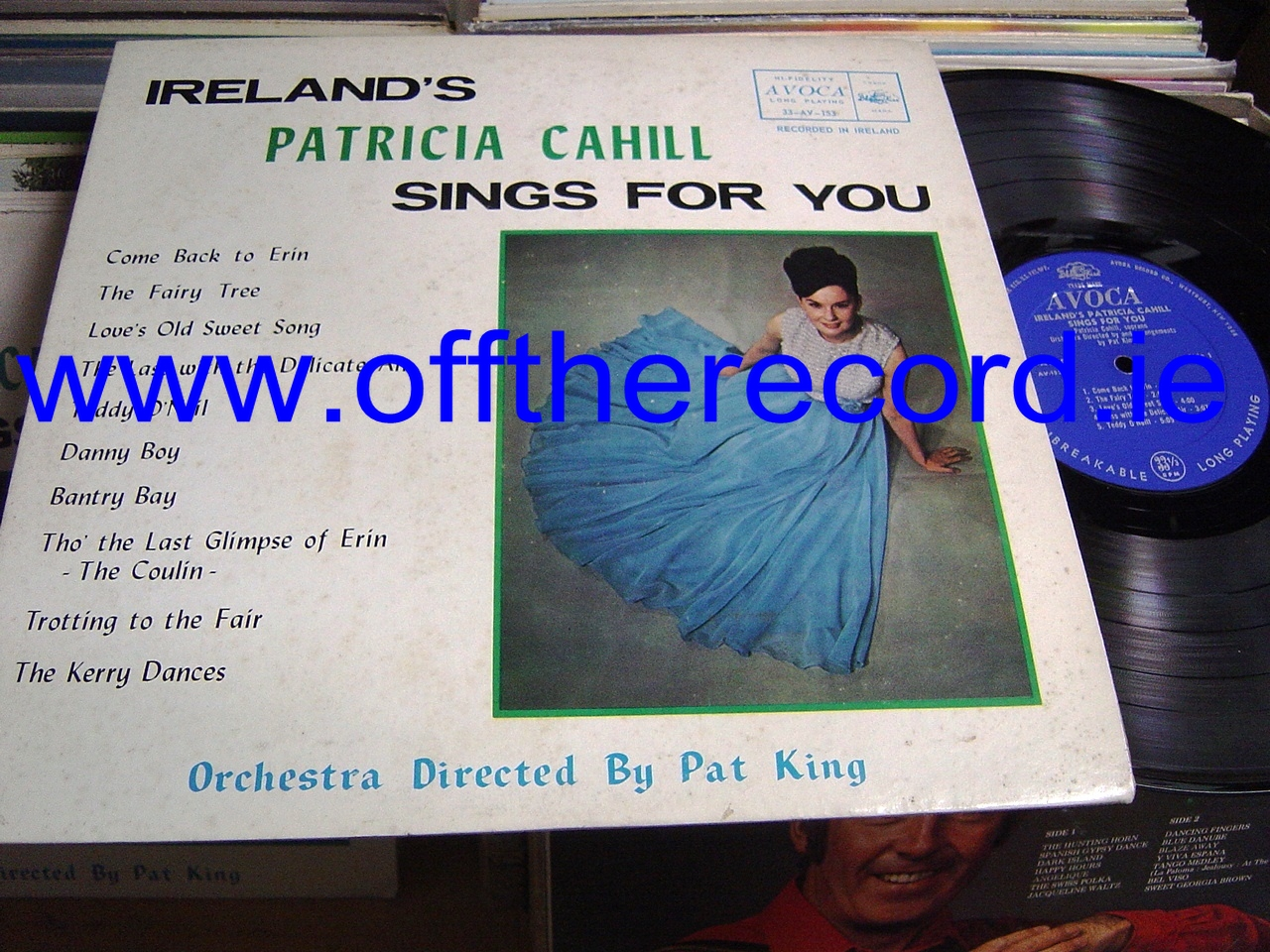PATRICIA CAHILL - SINGS FOR YOU - AVOCA