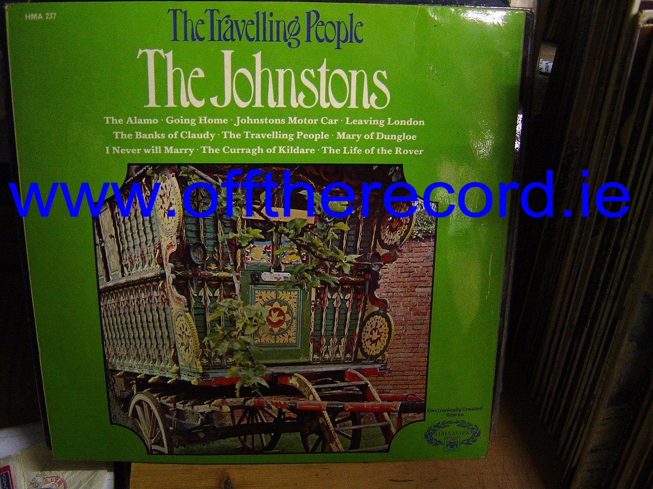 The Johnstons - The Travelling People - Hallmark Records 1970