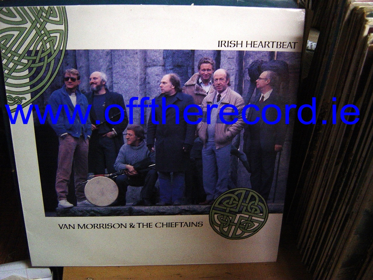 THE CHIEFTAINS & VAN MORRISON - MERCURY RECORDS 1988 - Click Image to Close