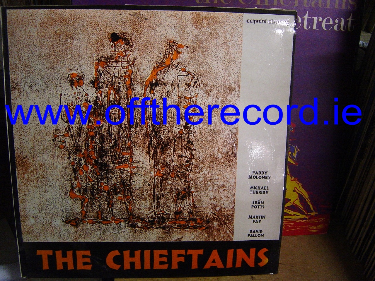 The Chieftains - 1 - Claddagh Records 1964