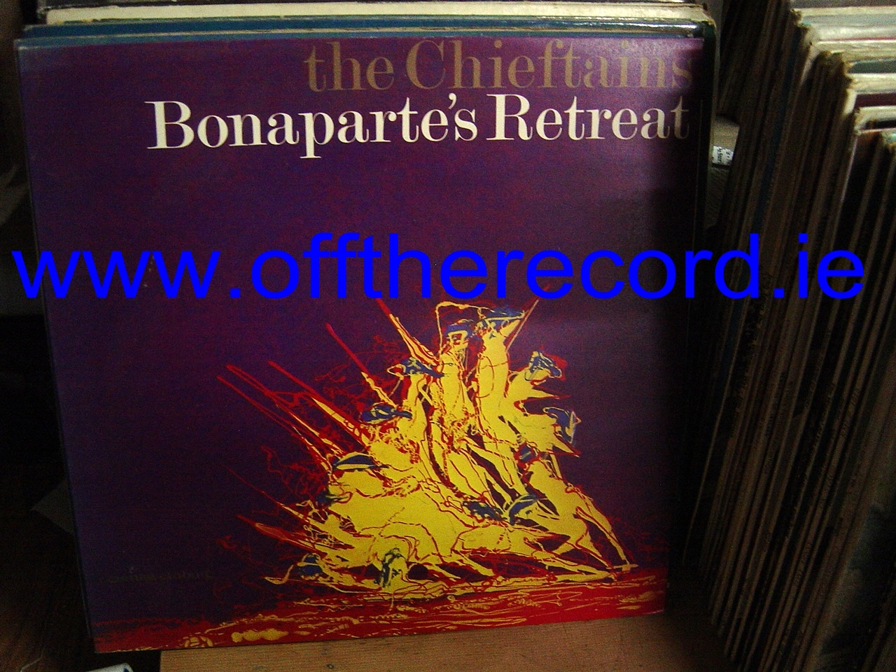 THE CHIEFTAINS - BONAPARTES - CLADAIGH RECORDS 1977