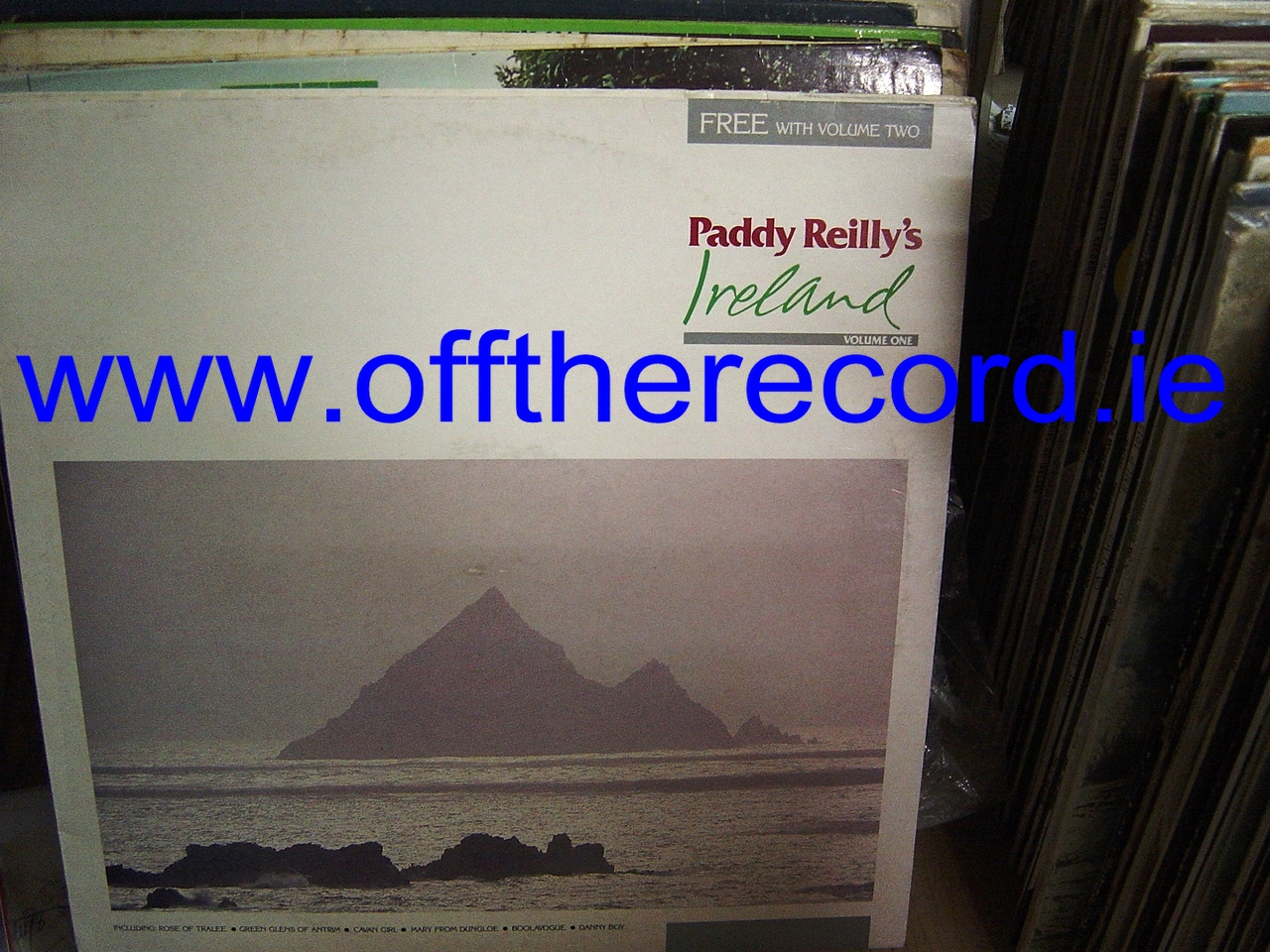 Paddy Reilly - Ireland Vol 1 & 2 - Harmac Records 1986