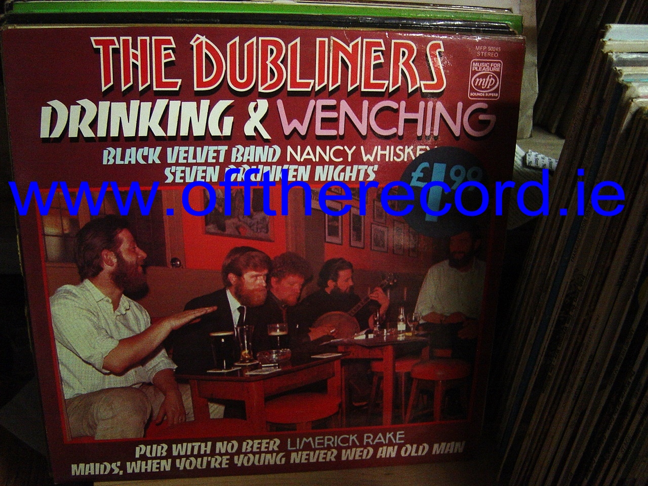 The Dubliners - Drinking & Wenching - MFP Records