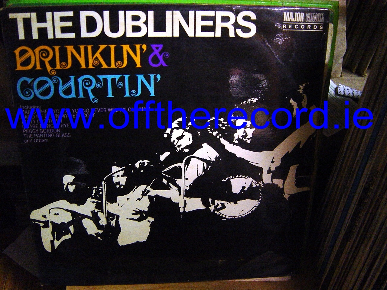 The Dubliners - Drinkin' & Courtin' - Major Minor Records