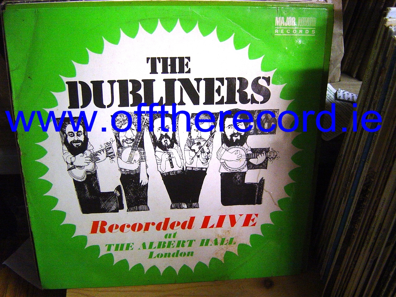 The Dubliners - Live in Albert Hall - Major Minor Records