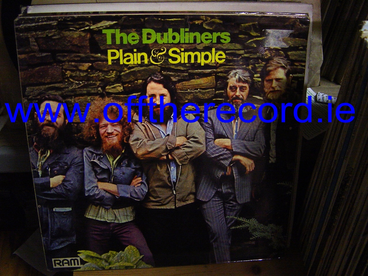 The Dubliners - Plain & Simple - Ram Records