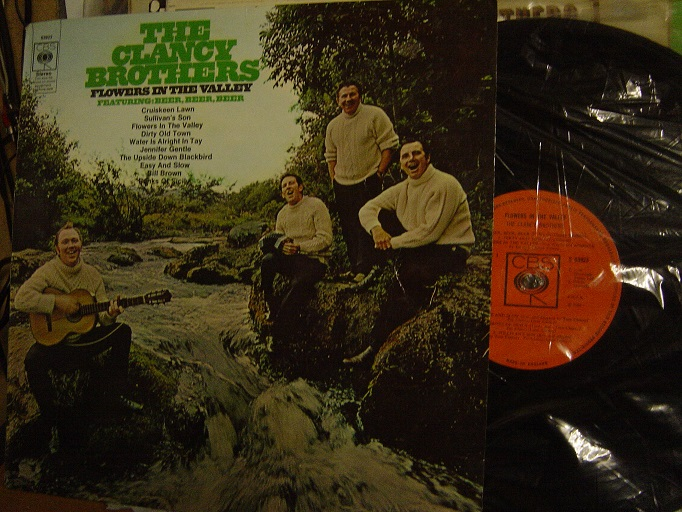 The Clancy Brothers - Flowers in the Valley - CBS UK