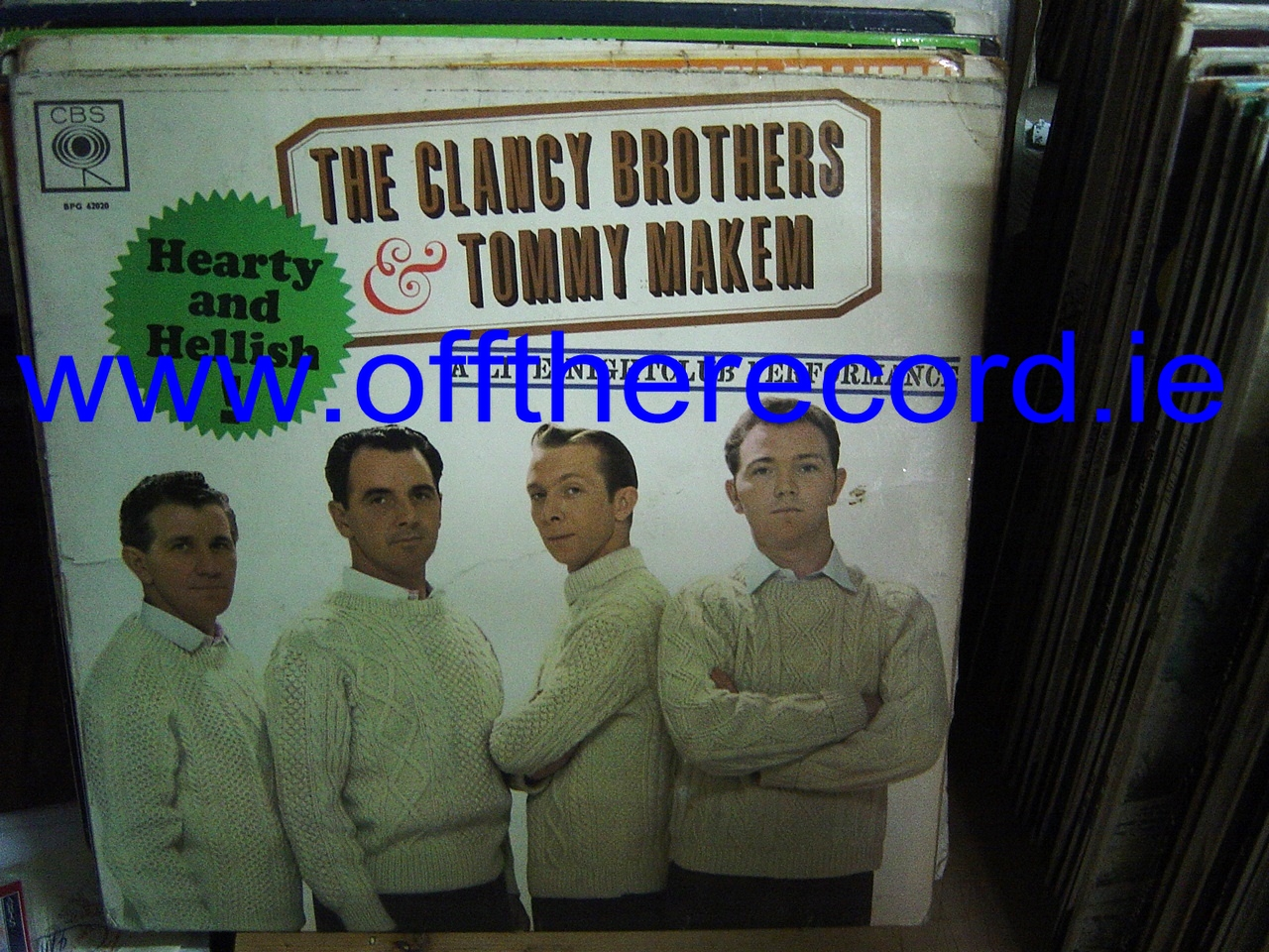 Clancy Brothers & Makem - Hearty & Hellish - CBS UK