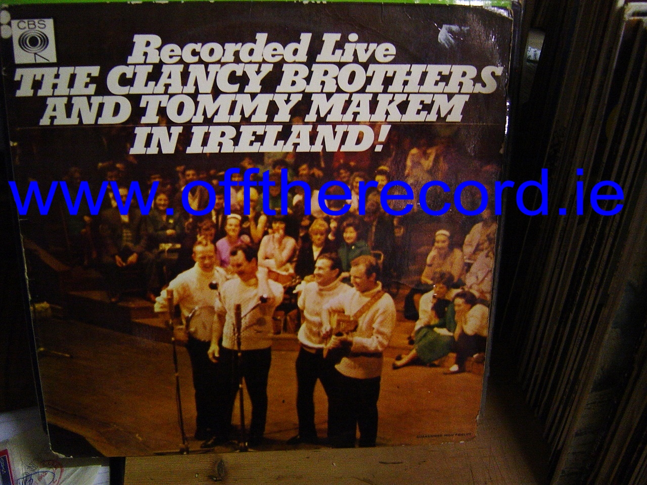 Clancy Brothers & Makem - Live in Ireland - CBS UK