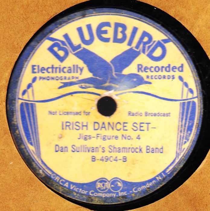 Dan Sullivan Shamrock Band - Irish Dance Set - Bluebird USA