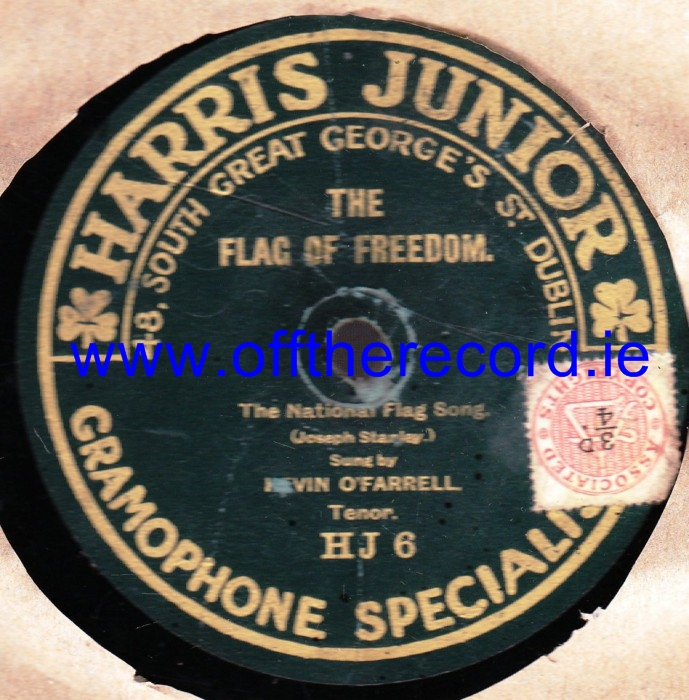 Kevin O'Farrell - The Flag of Freedon - Harris Junior