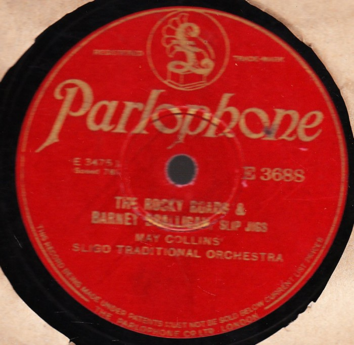 May Collins Sligo Traditional Orchestra - Parlophone E. 3688