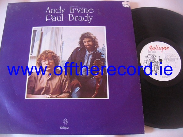 Andy Irvine & Paul Brady - Self Title Mulligan 1976
