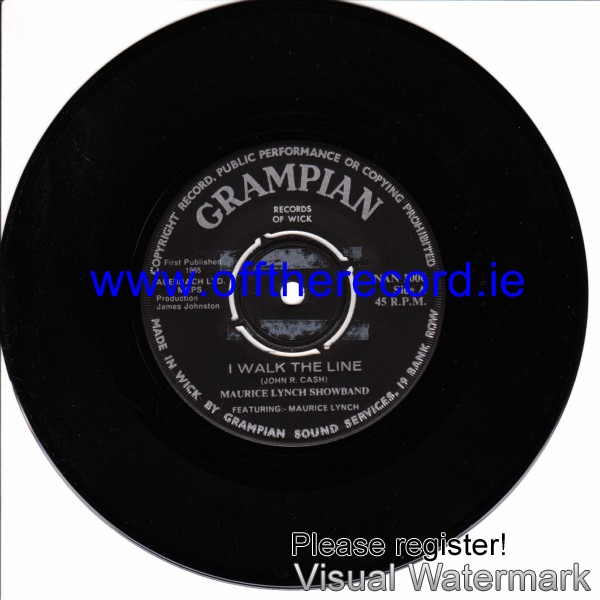 Maurice Lynch Showband - Crampian Records 1965
