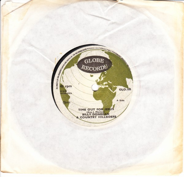 Billy Donegan & Country Hillsiders - 1975 - Globe