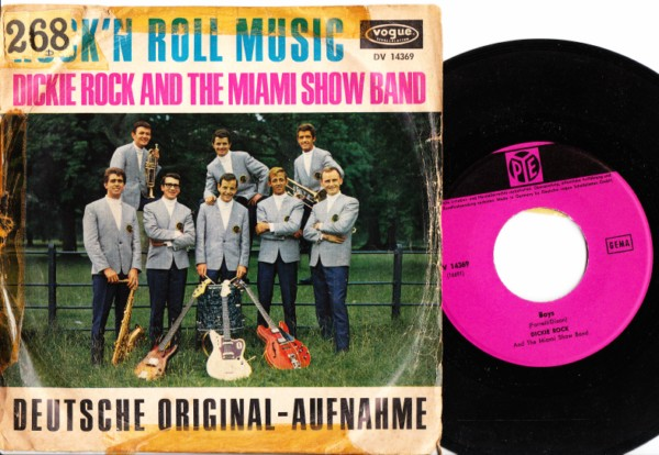 Dickie Rock & Miami - Rock n Roll - Rare German P/S