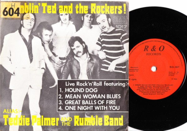 Teddie Palmer - Ramblin Ted & The Rockers - R & O 1973