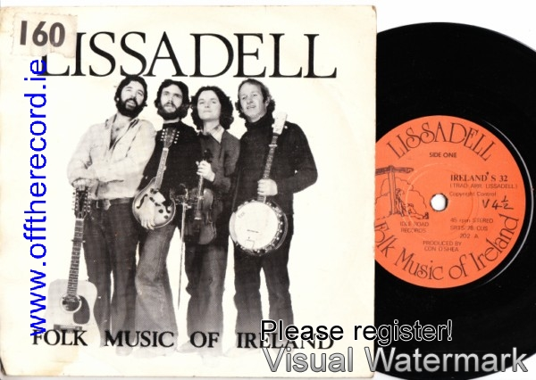Lissadell - Folk Music of Ireland - Idle Road Records 1979