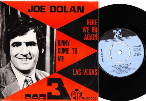 Joe Dolan & Par 3 - Here we go again - Pye P/S 1972 - Click Image to Close