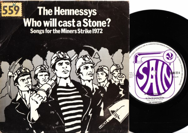 The Hennessys - Who will cast a stone - 1972 p/s Signed