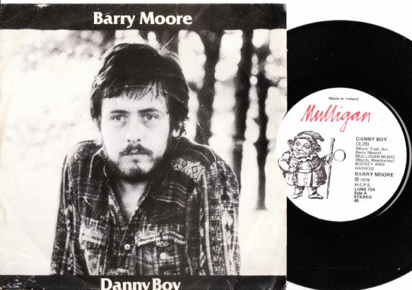 Barry Moore - Danny Boy - Mulligan / Picture Sleeve 1979