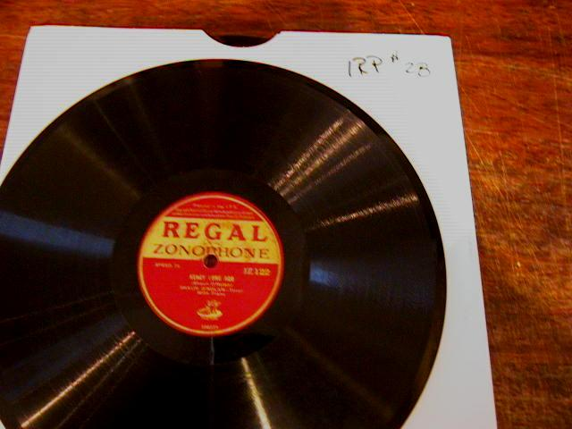 SHAUN O NOLAN - REGAL 78 RPM # 2 - IRP 28 [78 10 inch