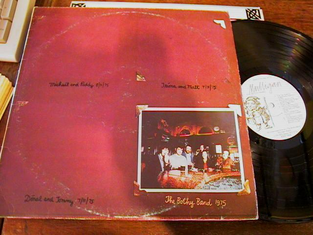 BOTHY BAND - 1 st LP MULLIGAN RECORDS