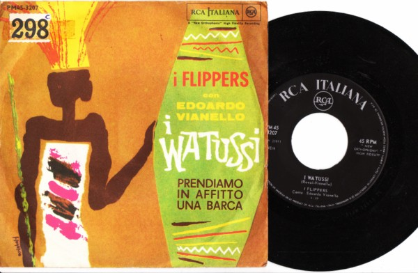 I Flippers - I Watussi - RCA Picture Sleeve 3996