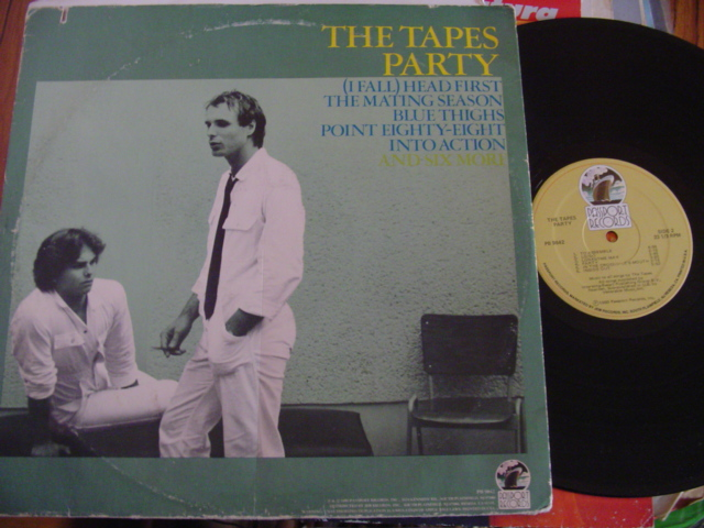 THE TAPES - PARTY - PASSPORT RECORDS 1980