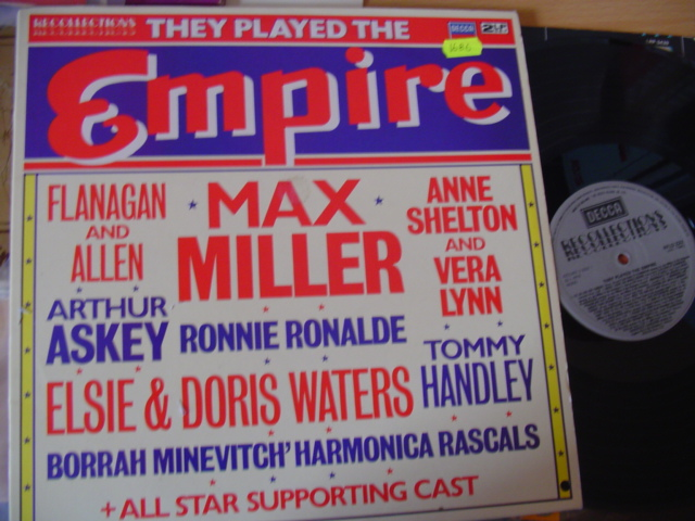 VARIOUS - THEY PLAYED THE EMPIRE - DECCA 2LP