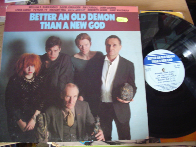 VARIOUS - POETS - Better An Old Demon Than A New God